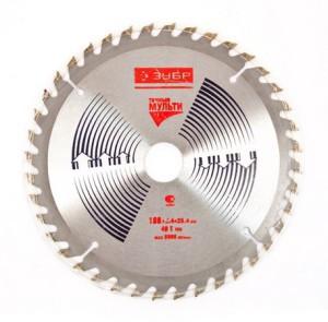 Diskas medžio pjovimo 230*25 mm 40 dantų ZUBR YM600 HR