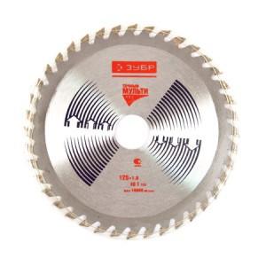 Diskas medžio pjovimo 125 mm 40 dantų ZUBR YM603 HR16349