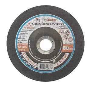Diskas šlifavimo 150*6*22 14A tipas 27 Luga Rusija