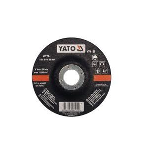 Diskas metalo šlifavimo 115*6.0*22 mm YT-6121 YATO (5/25)