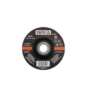 Diskas metalo šlifavimo 125*6.0*22 mm YT-6124 YATO (30)