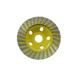 Diskas šlifavimui deimantinis plokščias 115 mm turbo 0860115 Crownman (10)