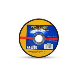 Diskas metalo šlifavimo 125*6*22.23 mm 0865125 Crownman (25)