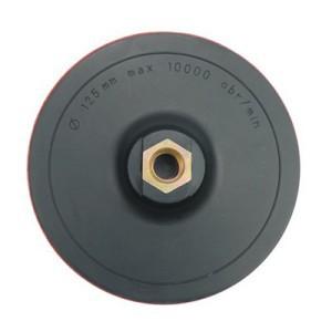 Padas šlifavimo guminis lipnus 125 mm su varžtu 08315