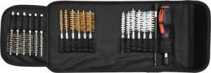 Šepetukų rinkinys žvakių lizdams valyti 20 vnt. YATO YT-08195