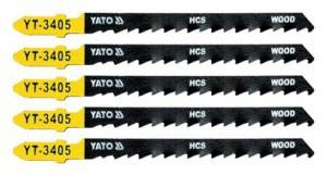 Ašmenys siaurapjūkliui medžiui 100/75/1.30 mm 5 vnt. TPI6 YT-3405 YATO