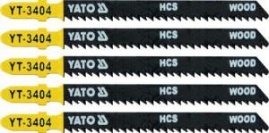 Ašmenys siaurapjūkliui medžiui 100/75/1.30 mm 5 vnt. TPI10 YT-3404 YATO