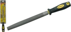 Dildė metalui pusapvalė 200 mm vidut. su dvisp. rankena 0742328 Crownman (20)