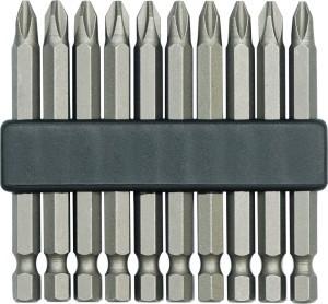 Antgaliai atsuktuvui 10 vnt. PH1 50 mm CR-V 65620 Vorel
