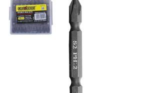 Antgaliai atsuktuvui dvipusiai PH2 110 mm S2 0620021 Crownman