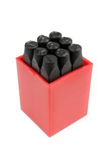 Kirstukai-žymekliai su skaičiais 8 mm 9 vnt. YT-6855 YATO