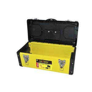 """Dėžė įrankiams metalinė/plastikinė 17"""" 40*20*19 cm 0018027 Crownman (1)"""
