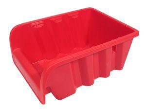 Dėžutė smulkioms detalėms raudona ERGOBOX3 Lenkija
