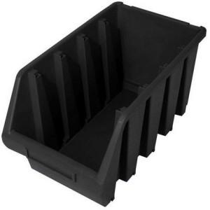 Dėžutė smulkioms detalėms juoda ERGOBOX4 Lenkija