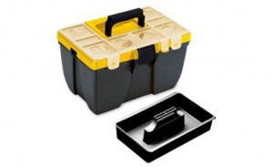Dėžė įrankiams 38*26*22 cm CARGO413 413N Italija