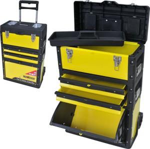 Dėžė įrankiams su ratukais 52*32*72 cm 0018630 Crownman (1)