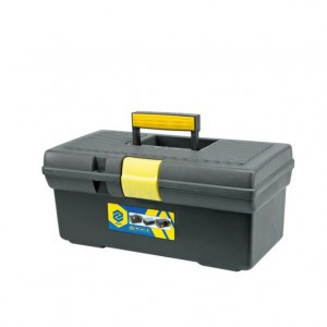 """Dėžė įrankiams plastikinė 12"""" 310*170*130 mm 78801 Lenkija"""