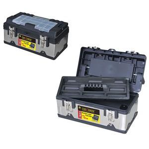 """Dėžė įrankiams metalinė/plastikinė 19"""" 45*25*20 cm 0018059 Crownman (1)"""