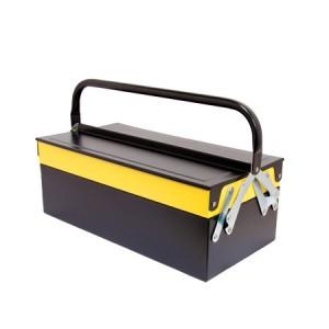 Dėžė įrankiams metalinė 404*200*150 mm 3 dalių 0010082 Crownman (1)