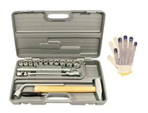 Rinkinys įrankių šaltkalvio-montuotojo PRAKTIK-1 Rusija NIZ 57317023 stb