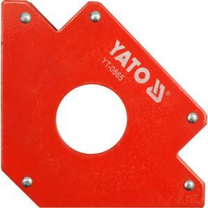 Laikiklis suvirinimo magnetinis D46 mm 122*190*25 mm 34 kg YT-0865 YATO