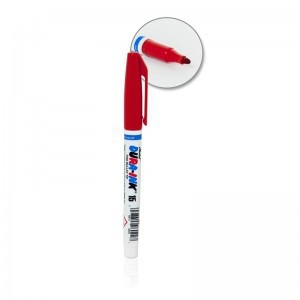 Markeris DURA-INK 15 rašalinis raudonas 1.5 mm 96022 (12)