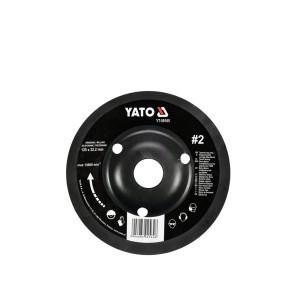 Drožtuvas medžiui diskinis 125 mm N2 YT-59165 YATO