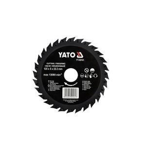Drožtuvas diskas medžiui 125 mm YT-59161 YATO
