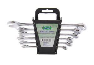 Raktai plokšti-kilpiniai 6 vnt. 6-17 mm CR-V 1526.60.OX Savex (6)