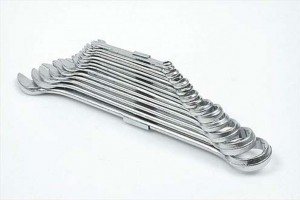Raktai plokšti-kilpiniai 15 vnt. 6-32 mm CLIP 51640 Indija lstb