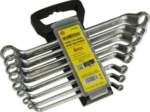 Raktai kilpiniai 8 vnt. 6-22 mm 0410028 Crownman (6)