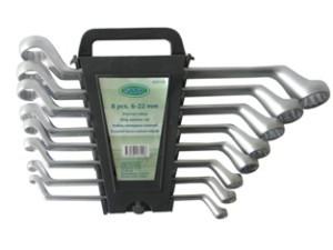 Raktai kilpiniai 8 vnt. 6-22 mm CR-V SATIN 1529.80.OX Savex (5)