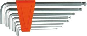 Raktai šešiakampiai 8 vnt. 1.5-8 mm šarnyriniai IMBUS  CR-V PROFI 56473