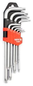 TORX KEY SET 9PCS T10 - T50