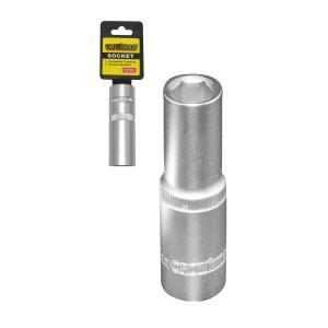 """Galvutė šešiakampė ilga 1/2"""" 27 mm CR-V 0490227 Crownman (3)"""