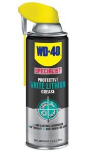 Tepalas aerozolinis WD-40 LITHIUM didelio efektyvumo baltas ličio tepalas 400 ml
