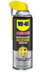 Tepalas aerozolinis WD-40 SILICONE didelio našumo silikoninis tepalas 400 ml