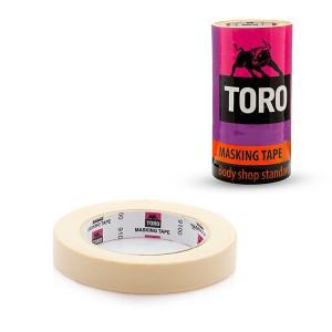 Juosta dažymo balta 18 mm*40 m 80*C TORO 9100 (12/48)