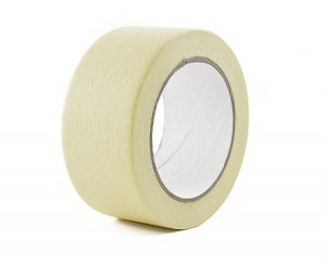 Juosta dažymo geltona 40 mm*50 m 145 mic (36)