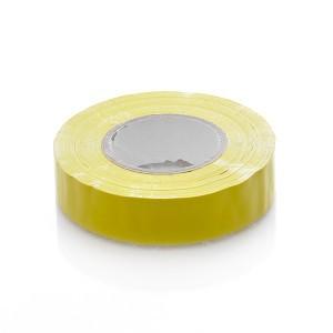 Juosta izoliacinė geltona 19 mm*20 m*0.18 mm Savex (10)