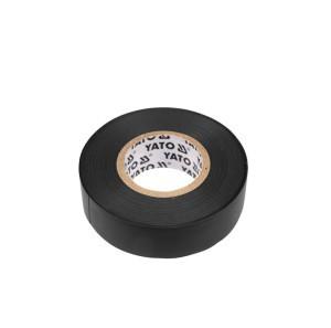 Juosta izoliacinė juoda 15 mm*20 m*0.13 mm YT-8159 YATO (12/72)