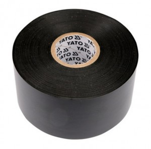 Juosta izoliacinė juoda 25 mm*20 m*0.19 mm YT-8174 YATO (8/48)