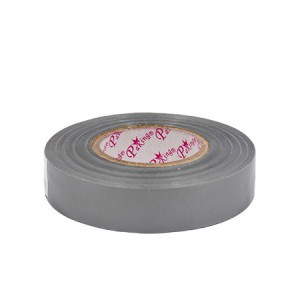 Juosta izoliacinė pilka 18 mm*20 m*0.18 mm Savex (10)