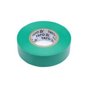 Juosta izoliacinė žalia 0.13 mm*19 mm*20 m YT-81652 YATO (12/72)