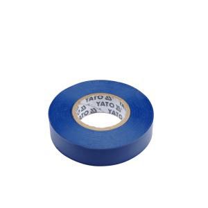 Juosta izoliacinė mėlyna 15 mm*20 m*0.13 mm YT-81591 YATO (12/72)