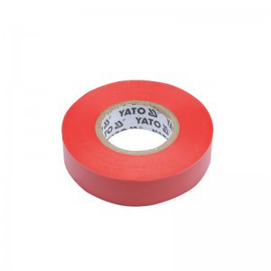 ELECTRICAL INSULATION TAPE PVC 0.13MM 15MMx10M RED