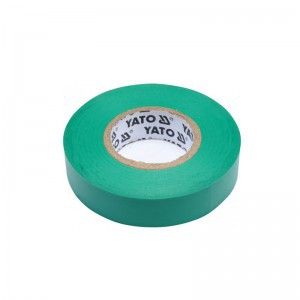 ELECTRICAL INSULATION TAPE PVC 0.13MM 15MMx10M GREEN