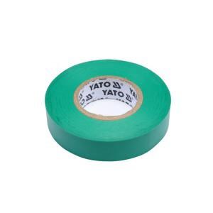 Juosta izoliacinė žalia 0.13 mm*15 mm*10 m YT-81595 YATO (12/72)