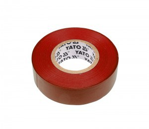 ELECTRICAL INSULATION TAPE 19MMx20M RED
