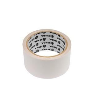 Juosta dvipusio lipnumo balta PP 50 mm*10 m 75246 Vorel (18/72)
